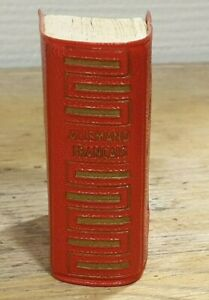 Dictionnaire Lilliput Larousse, Allemand-Français 1961,  5 x 4 x 2 cm