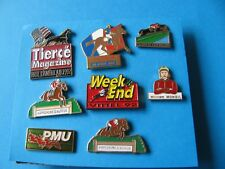 Collection of 8, Horse Racing Pin badges, VGC. (Lot C).