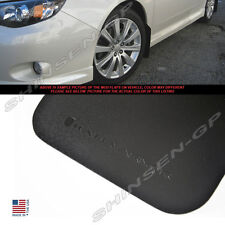 RALLY ARMOR BLACK BASIC SERIES MUD FLAPS FOR 2008-2011 IMPREZA 2.5i / 08-10 WRX