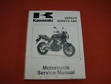 2010  Kawasaki Versys & Versys ABS Motorcycle Service Manual
