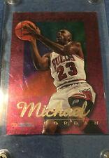 1995 Hoops Michael Jordan Power Palette. Beautiful Looking Card
