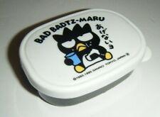"Vintage 1995 Sanrio Badtz-Maru Mini Plastic Container Box with Lid 3.5"" Sauce?"