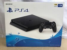 Sony Playstation 4 Slim PS4 1TB 4.70fw Console Black 3002337 ✅❤️️NEW + WTY✅❤️️
