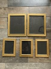 Job Lot 5 Gold Photo Picture Frame Freestanding Feature Sideboard
