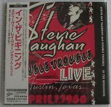 Stevie Ray Vaughan-In the beginning JAPAN MINI LP CD OBI NUOVO EICP - 1179