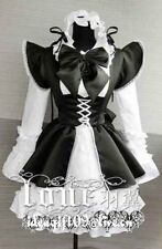 A-133 Gothic Lolita Classic Maid uniforme cosplay disfraz vestido a medida Costume