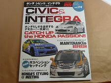 JDM HYPER REV HONDA CIVIC INTEGRA CR-X Perfect Tuning & Modify Custom Vol.174