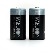 """Maha Powerex IMEDION C 5000mAh """"Ready When You Are!"""" Rechargeable Batteries 2 Pk"""