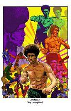 Jim Kelly Blackbelt Jones Enter the Dragon, kung fu karate blaxploitation
