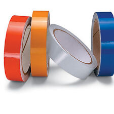 REFLECTIVE TAPE RED - ENGINEERING GRADE - 100mm x 5m