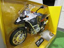 MOTO BMW R 1200 GS noir échelle 1/9 de RASTAR 42000 moto miniature de collection
