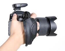 Leather Digital SLR Camera Wrist Strap Hand Grip for Canon Sony Olympus Nikon