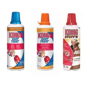 KONG Easy Treat Dog Treat Stuff Flavours Peanut Butter, Cheese, Liver Paste