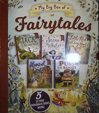Bonney Press MY BIG BOX OF FAIRYTALES Boxed Set of 5 Paperback Books @NEW@