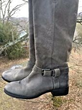 Jessica Simpson Motorcycle Studded Horse Riding Cowboy Boots Womens Shoes Sz 9.5