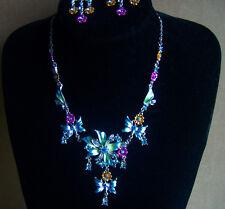 Flower Necklace & Earring set