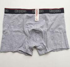 Kappa 2 Pack Grey Mens Boxer Shorts Size L