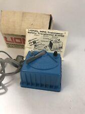 LIONEL 4150 50 WATT TRANSFORMER BLUE E3
