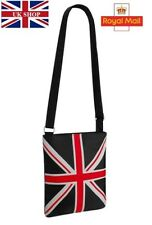UNION JACK FAUX LEATHER CROSS BODY BRIT BAG Souvenir UK Flag Travel Bag Gift