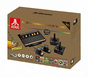 Atari Flashback 8 Gold Console HDMI 120 Games 2 Wireless Controllers [video game