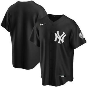 New York Yankees Nike Official 2020 Replica Jersey - Black