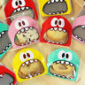 100X Self Adhesive Monster Plastic Cookies Candy Package Cellophane Gift Bag