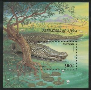 Tanzania, Wild Fauna, Reptiles, MNH Stamps 1995, Lot - 31