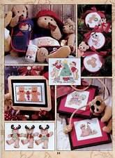 35 DIY Cross stitch Teddy Bear Embroidery Home Wall Kits Decor Digital Download