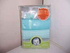 Gerber hippo prefold cloth diapers HTF. New