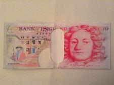 Banknote wallet / money purse. 50 pound banknote design