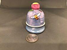 Vintage Noritake Blue Luster Bee Hive Salt and Pepper Shaker