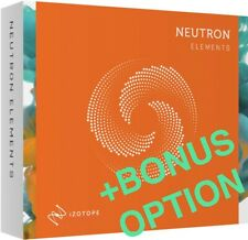 iZotope Neutron 3 Elements Plugin Vst - Genuine License +Bonus eDelivery Pc Mac