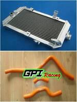 aluminum radiator +oran HOSE Yamaha 660R/ Raptor 660 YFM660R 2002-2005 03 04 05