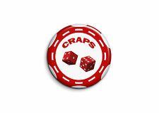 Humour - Craps 1 - Badge 25mm Button Pin