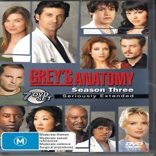 D6 Grey's Anatomy : Season 3 (DVD, 2007, 7-Disc Set)
