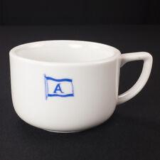 Alafouzos Shipping Company Piraeus Greece Restaurant Ware Coffee Cup 1980s