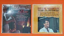 DEAN MARTIN Dream With & Door Is Still Open 2 Lot LP Vinyl VG+ Cover Shrink