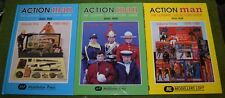 Vintage Action man Livre Ultimate Collectors Guide Volume 1 2 & 3