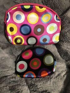 travel cosmetic bag set Of 2