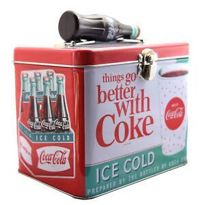 NEW Coca Cola tin box perfect gift for Coke fans