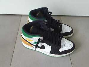 EU Größe 43 - Jordan Herren Schuhe Nike Air 1 Mid SE Oakland