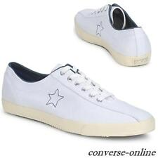 Women Boys CONVERSE All Star WHITE BLUE 1974 TURF TENNIS Trainers Shoe SIZE UK 5