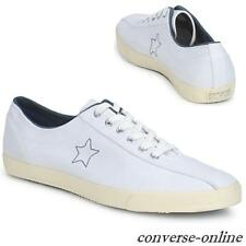 Womens Men CONVERSE All Star WHITE BLUE 1974 TURF TENNIS Trainers Shoe SIZE UK 4