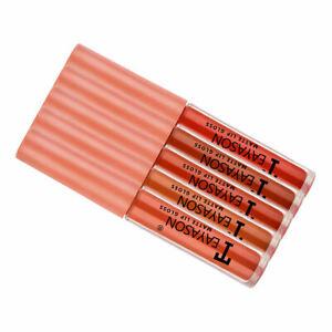 Pack of 5 Matte Velvet Lip Gloss Set Waterproof Liquid Lipstick Lip Stain