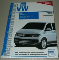 Reparaturanleitung VW T6 Transporter Bus Bulli Benzin + Diesel ab 2015 Buch Neu!