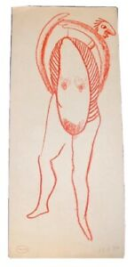 Robert Caby illustration, estate stamped, pencil dated 1930