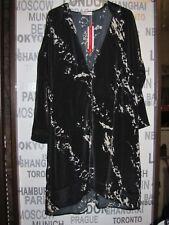 Sheego Blouse-Coat  dünner Mantel Kaftan satin LONG Bluse115 cm * Gr. 50  NEU