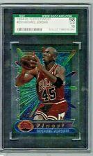 1994 - 95 #331 Topps Finest Michael Jordan SGC 10 Gem HOF
