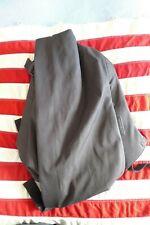 "Cote Et Ciel Isar Backpack, Black, Medium, Front fold w/15"" Laptop at rear, VGC"