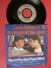 "JOHN TRAVOLTA & OLIVIA NEWTON-JOHN You're the one that I want 7"" 45T RSO 2090279"